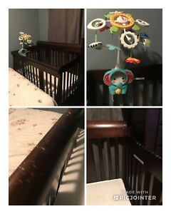 Crib Mattress and Accessories
