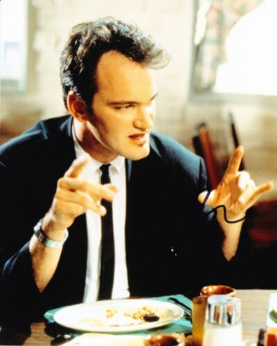 Quentin Tarantino Signed 10X8 Photo Reservoir Dogs DIRECTOR AFTAL COA (5225)