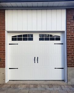 CARRIAGE GARAGE DOORS......... $850 INSTALLED