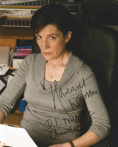 Harriet Walter Signed Law And Order: UK 10x8 Photo AFTAL