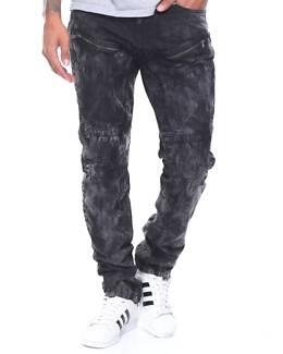 Mens Moto Style Jeans - Designer New York Size 32