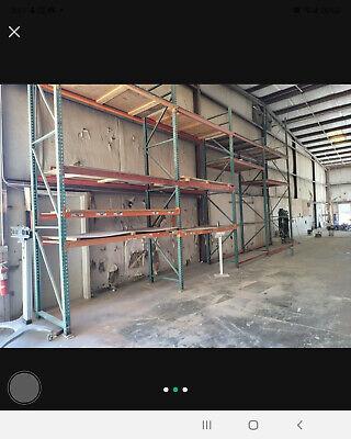 Pallet Rack 16 X 48 Upright Warehouse Shelves