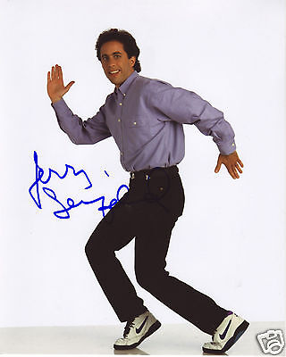 JERRY SEINFELD AUTOGRAPH SIGNED PP PHOTO POSTER