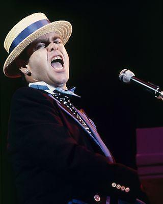 "Elton John 10"" x 8"" Photograph no 5"