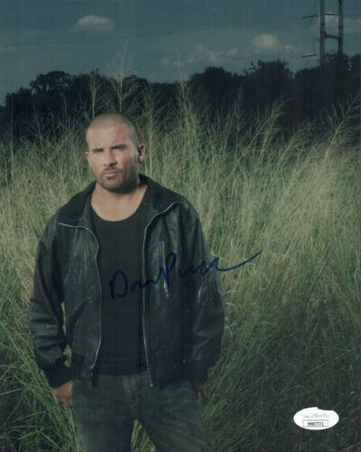 DOMINIC PURCELL Signed PRISON BREAK 8x10 Photo Autograph JSA COA
