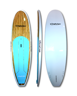 Stand up paddle boards new timber or bamboo $799 Alleydesigns