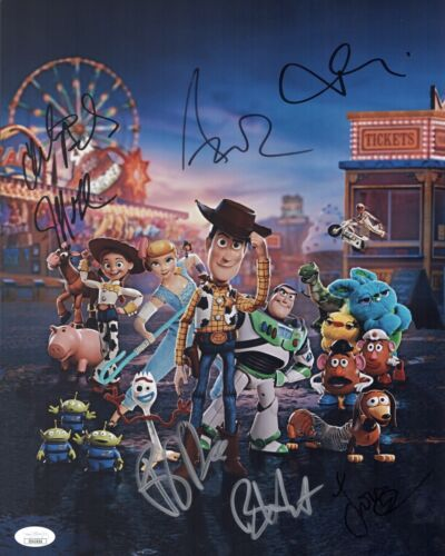 Annie Potts TOY STORY 4 Cast X7 Signed 11x14 Photo In Person Autograph JSA COA
