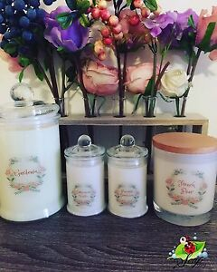 SOY CANDLES Bass Hill Bankstown Area Preview
