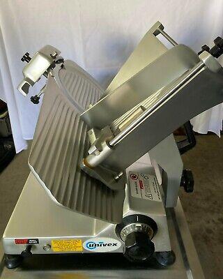 Univex Model 9512 Commercial Manual Meatdeli Slicer