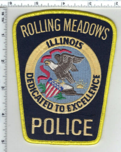 Rolling Meadows Police (Illinois) Shoulder Patch