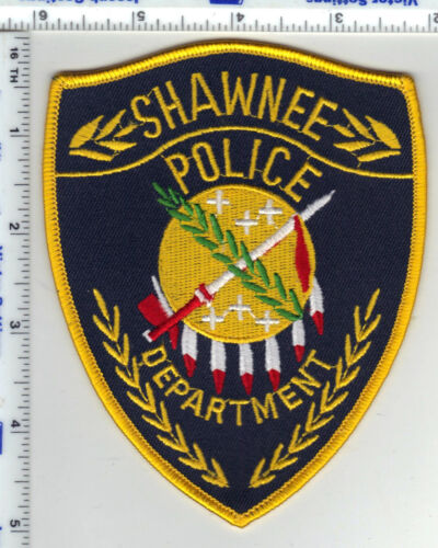 Shawnee Police (Oklahoma) Shoulder Patch from the 1980