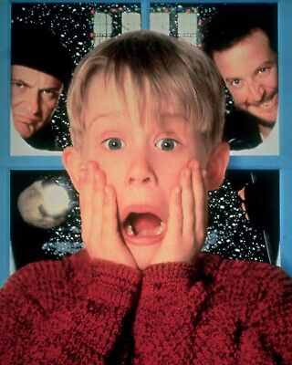"""HOME ALONE 16"""" x 12"""" Photo Repro Textless Poster"""