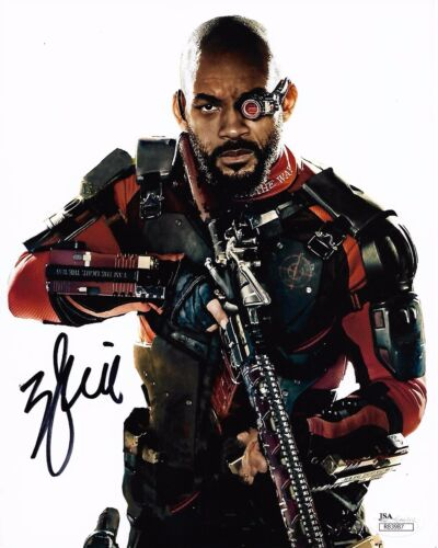 Will Smith Suicide Squad Autographed Signed 8x10 Photo JSA COA #1