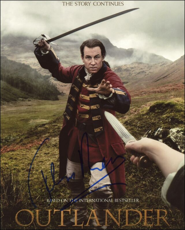 "Tobias Menzies ""Outlander"" AUTOGRAPH Signed 'Jack Randall' 8x10 Photo ACOA"