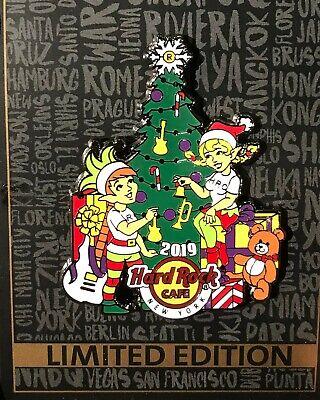 Hard Rock Cafe New York City Tree Lightning Christmas 2019 limited ()