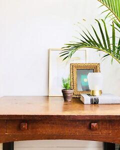 O A K       Mission | Crafts Style Table