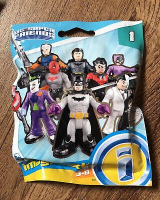 Imaginext DC Super Friends RED HOOD #81 New Sealed Blind Bag Series 1