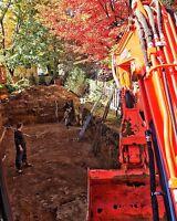 Excavation de tout genre