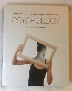 Psychology from Inquiry to Understanding Textbook and MyPychLab