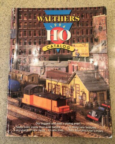 Walthers HO 1994 Catalog Model Trains