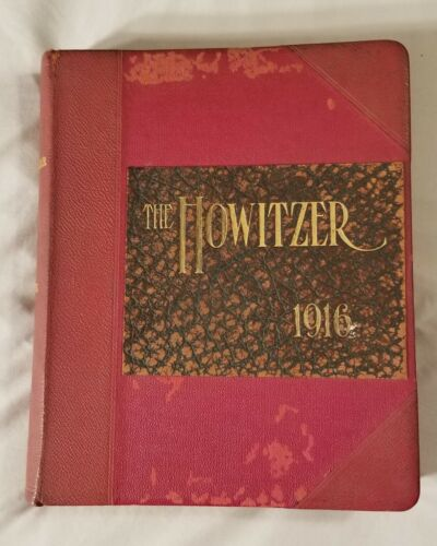 1916 The Howitzer U.S. Military Academy Yearbook West Point Corps of Cadets
