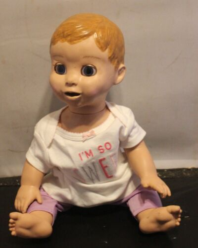 Luvabella Interactive Baby Doll Moves Coos and blinks