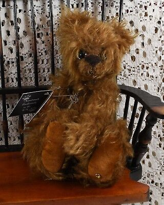 Very Cute Kaycee Bear Limited Edition Malcolm 40/50 Golden Brown Mohair