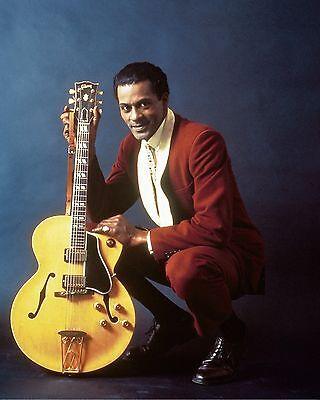 "Chuck Berry 10"" x 8"" Photograph no 2"