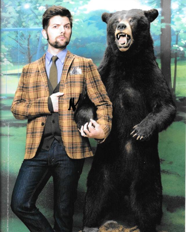 GFA Parks and Recreation * ADAM SCOTT * Signed 8x10 Photo A5 COA
