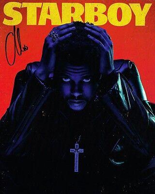 Usado, The Weeknd SIGNED 8x10 Photo Abel Makkonen Tesfaye Starboy COA segunda mano  Embacar hacia Argentina