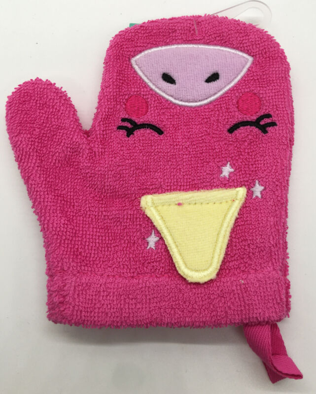 Unicorn Bath Mitts Pink - Pillowfort™. New With Tags.