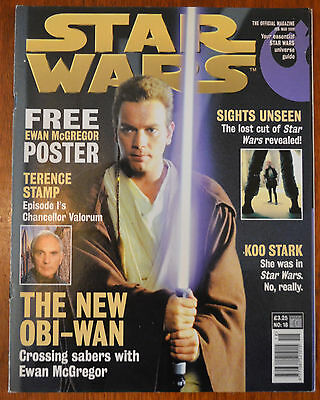 Star Wars The Official Magazine No.18 Feb/March 1999