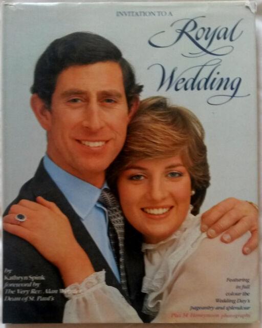 INVITATION TO A ROYAL WEDDING KATHRYN SPINK 1981 PRINCESS DIANA CHARLES WINDSOR