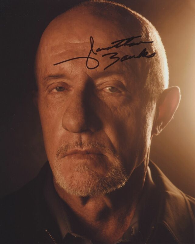 JONATHAN BANKS SIGNED BETTER CALL SAUL BREAKING BAD 8X10 PHOTO 3