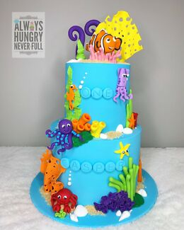 Under The Sea Nemo Cake