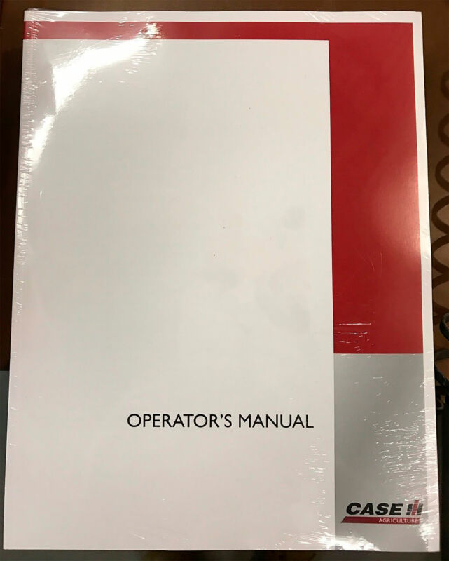 CASE IH T851 GRAIN BOX WAGON T852 REAR END UNLOADER T853 BUNK FEEDER OPERATOR`S