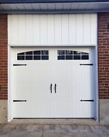 CARRIAGE GARAGE DOORS....... FROM $850 INSTALLED