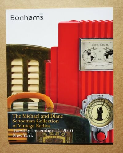 Bonhams Michael Schoeman Collection of Vintage Radios Auction Catalog New York