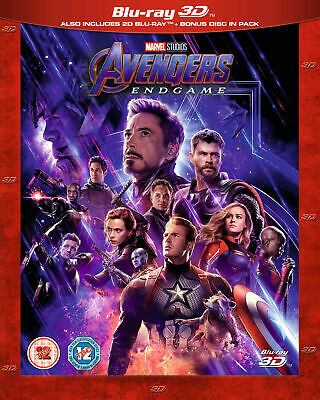 Disney Marvel's AVENGERS: ENDGAME 3D AND 2D Blu-ray PRE-ORDER