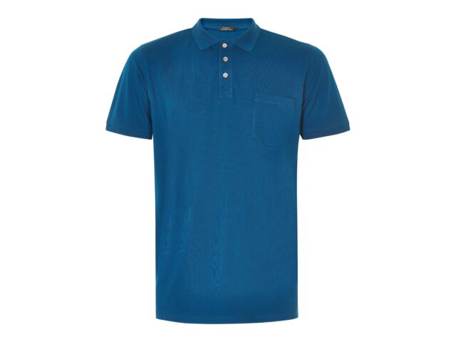 Matinique Clean Polo Shirt/Poseidon - Small CLEARANCE