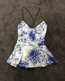 NEW Ally Fashion Peplum Top