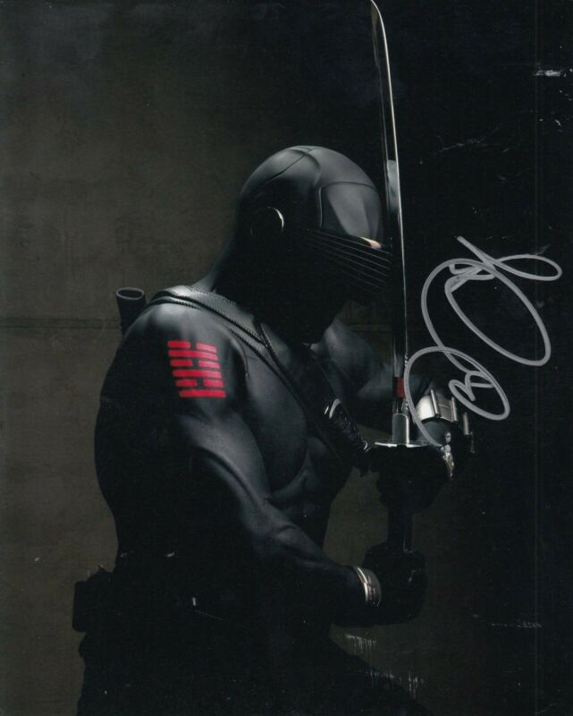 RAY PARK signed (G.I JOE The Rise of Cobra) 8X10 photo *Snake Eyes* WCOA