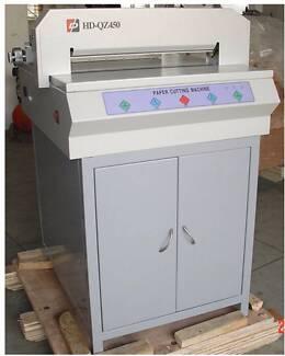 Electric Guillotine HD-QZ450 Paper cutting machine cut 400 sheets Bankstown Bankstown Area Preview