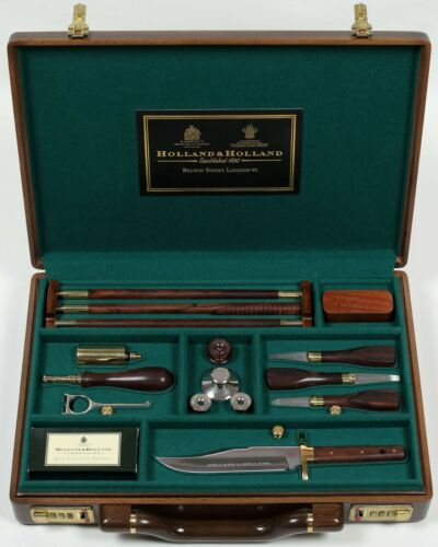 HOLLAND & HOLLAND CLEANING KIT for SHOTGUN 12GA for purdey westley richards boss