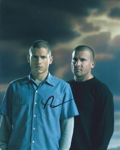 Dominic Purcell Signed Autographed 8x10 Photo The Flash Prison Break 1D