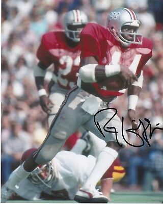 Ohio State Buckeyes Shaft - RAY GRIFFIN   OHIO STATE BUCKEYES   ACTION SIGNED 8x10