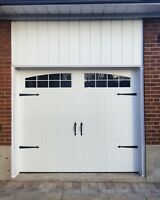 CARRIAGE STYLE GARAGE DOORS........ $800 INSTALLED
