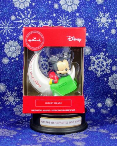 Hallmark Ornament - Red Box - Mickey Mouse Baby