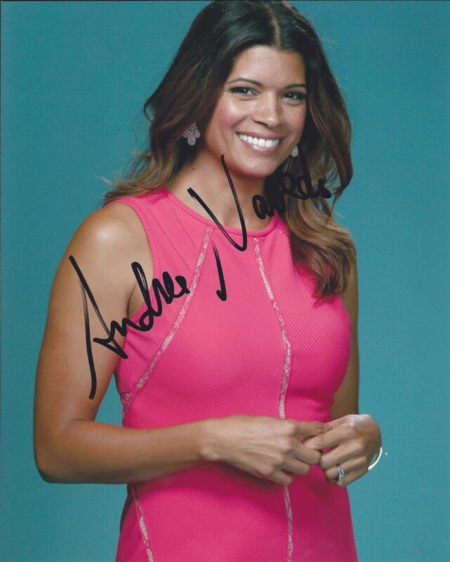 Andrea Navedo Signed Autographed 8x10 Photo Jane the Virgin A