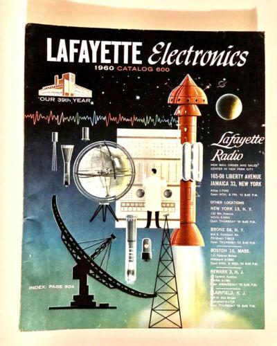 1960 Lafayette Radio Electronics Catalog #600 NY, 303 Pages - Stereo Amp Kits